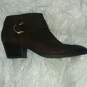 Franco Sarto western  leather ankle boot